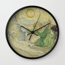 The Raising of Lazarus (after Rembrandt) Wall Clock