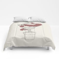 Handplant Comforters