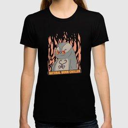 Sloth Saying Natural Born Chiller Sloths T-shirt