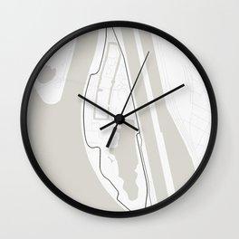 Circuit Gilles Villeneuve, Montreal, Quebec, Canada Wall Clock