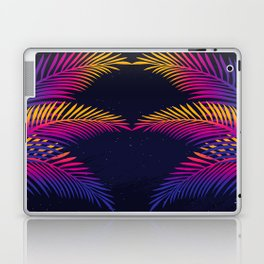 Neon Leaves Laptop & iPad Skin
