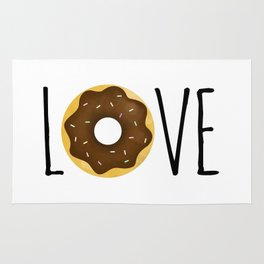 I Love Donuts Rug