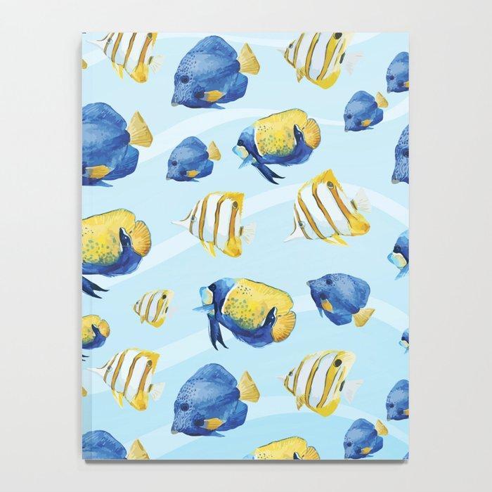 Marine Pattern 08 Notebook