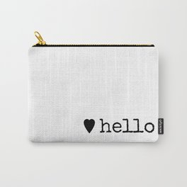 A Warm Hello Carry-All Pouch