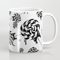 goth Mugs featuring Goth Lollies by All Is One