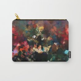 Emotional Abstract Artwork with Dark Colors Carry-All Pouch