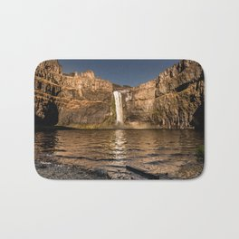 Desert Waterfall - Summer In Palouse Bath Mat