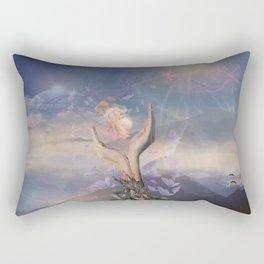 Mother & Child Rectangular Pillow