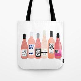 Rose Bottles Tote Bag