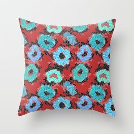 Scrunchies Forever Throw Pillow