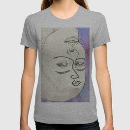 Les Femmes - purple haze T-shirt