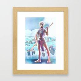Miklos the Atlantean Framed Art Print