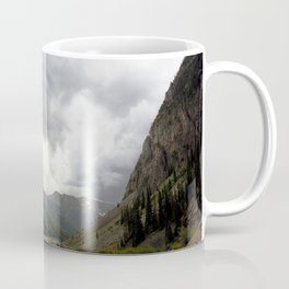 View Downstream from the Sunnyside Mill on a Stormy Day Coffee Mug