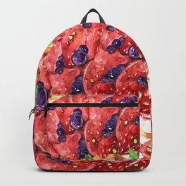 Strawberry Tart 2 Backpack