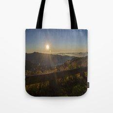 Sunrise on the Blue Ridge  Tote Bag