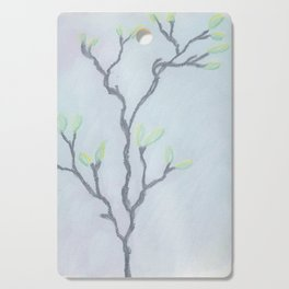 Magnolia Buds on Branches Cutting Board