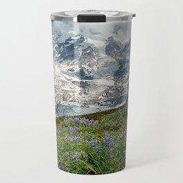 Scenic Landscape Art, Mt. Rainier, Mt. Rainier National Park, Paradise Travel Mug