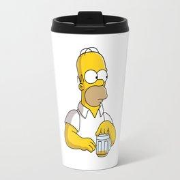the simpson coffe Travel Mug