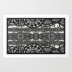 Membranes Art Print