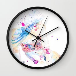 Jewel Fish Wall Clock