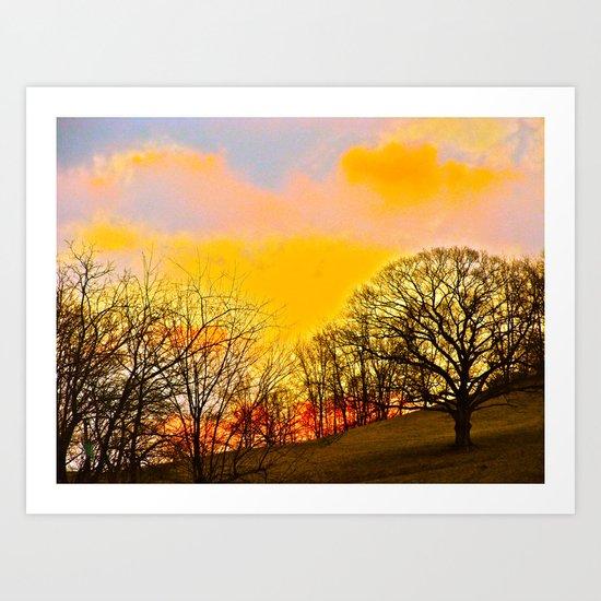 Feel the Sunrise Art Print