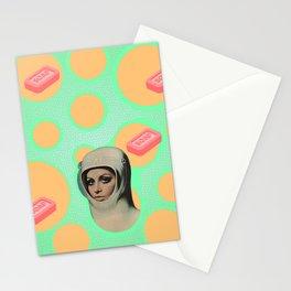 Trippy Vintage Poster Art  Stationery Cards