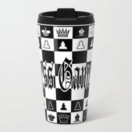 Chess Game Travel Mug