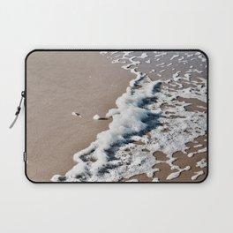 Foam on the beach on the Sunshine Coast Laptop Sleeve