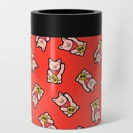 Lucky Pig Pattern Can Cooler
