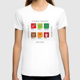 Colorful Christmas T-shirt
