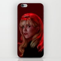 laura palmer iPhone & iPod Skins featuring Laura Palmer from Twin Peaks by Annike