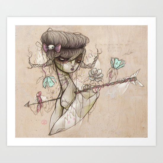 Far From Safety, Far From Grace Art Print