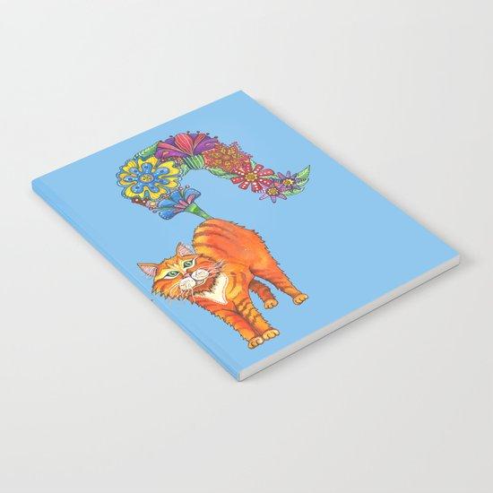 Classy Cat Chloe (Blue) Notebook