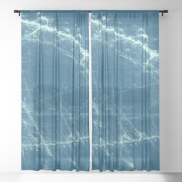 Stitches Sheer Curtain