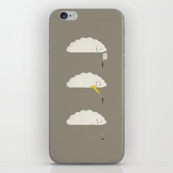 Cloud High Five iPhone Skin