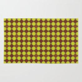 Sagittarius Pattern Flower of Life by Debra Cortese Rug