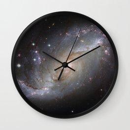 Barred Spiral Galaxy NGC 1672 Wall Clock