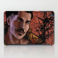"dragon age inquisition iPad Cases featuring Dragon Age Inquisition - Dorian Pavus - Thorn by Barbara ""Yuhime"" Wyrowińska"