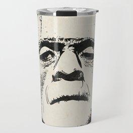 Frankenstein (B&W) Travel Mug