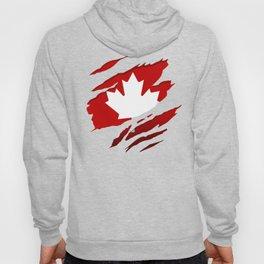 Canadian Red Flag Pride Hoody