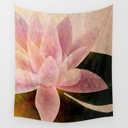 Lotus of my Heart Wall Tapestry