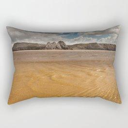 Three Cliffs Bay Swansea Rectangular Pillow
