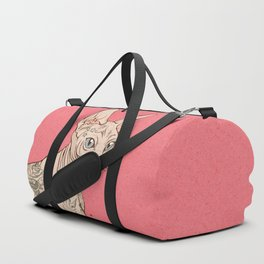 Tattoo Sphynx Duffle Bag