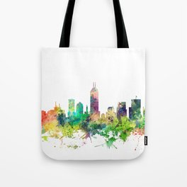 Indiana, Indianapolis Skyline SP Tote Bag