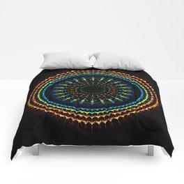 Decorative tribal Mandala artwork Comforters