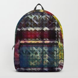 City Nights Plaid Backpack