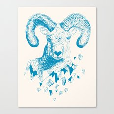 Fragments (Sheep) Canvas Print