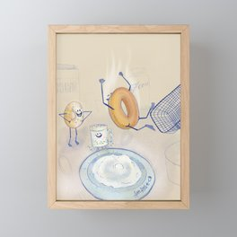 Sugar high Framed Mini Art Print