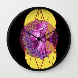 Moon Fairy  Wall Clock