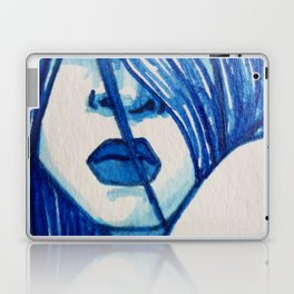 Sitting With The Feelings  (Close-up) Laptop & iPad Skin
